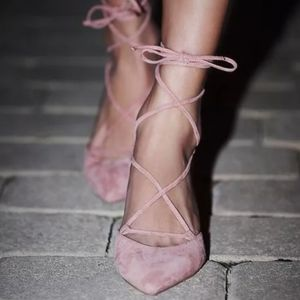Jeffrey Campbell / free people Andra heels